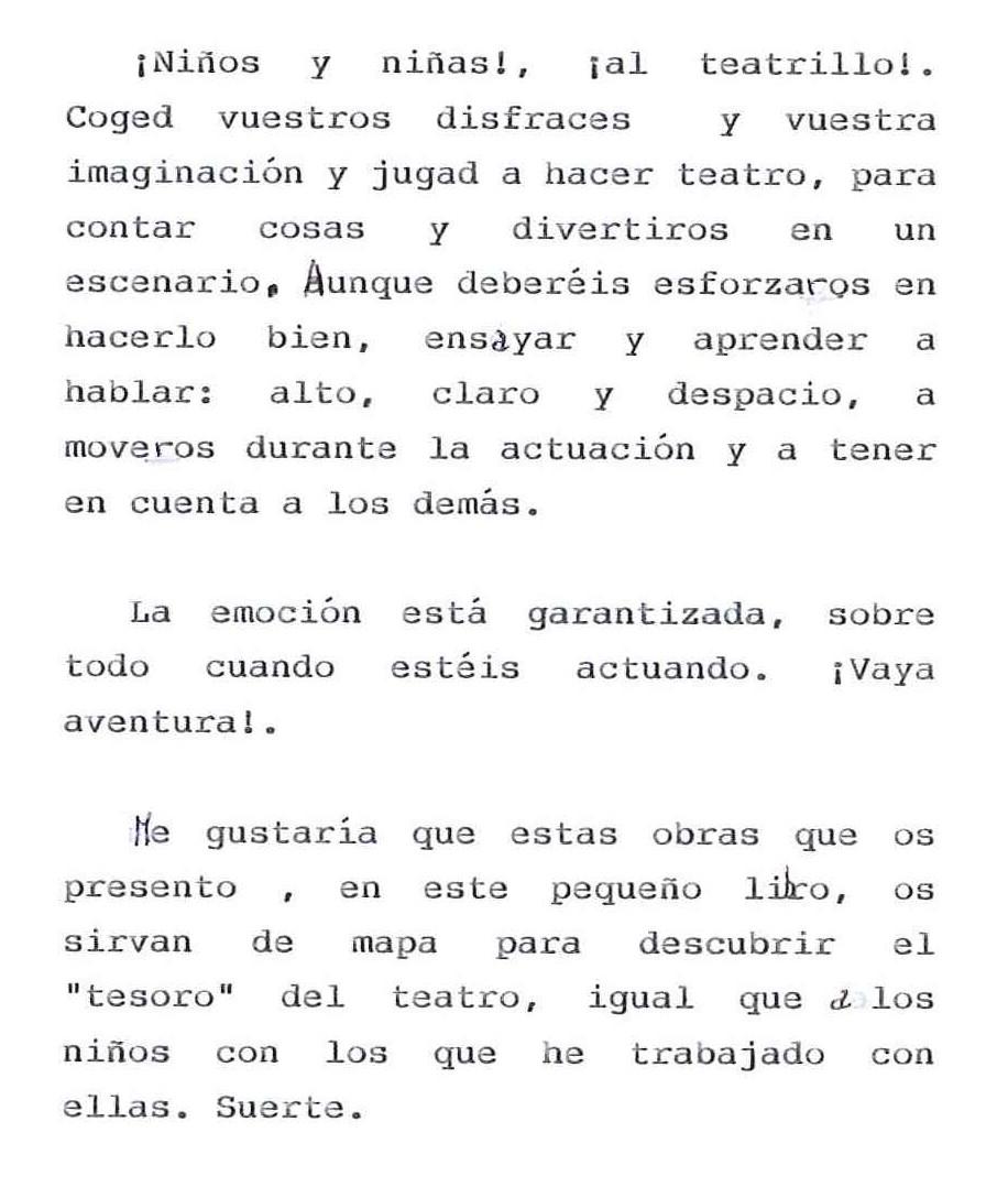 guiones monologo: