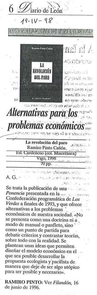Recorte del Diario de León
