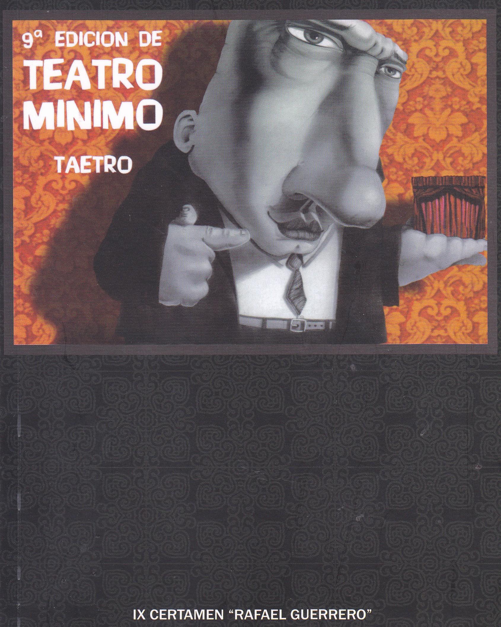 Portada de Teatro Mínimo