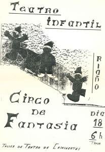 Cartel de Teatro Infantil
