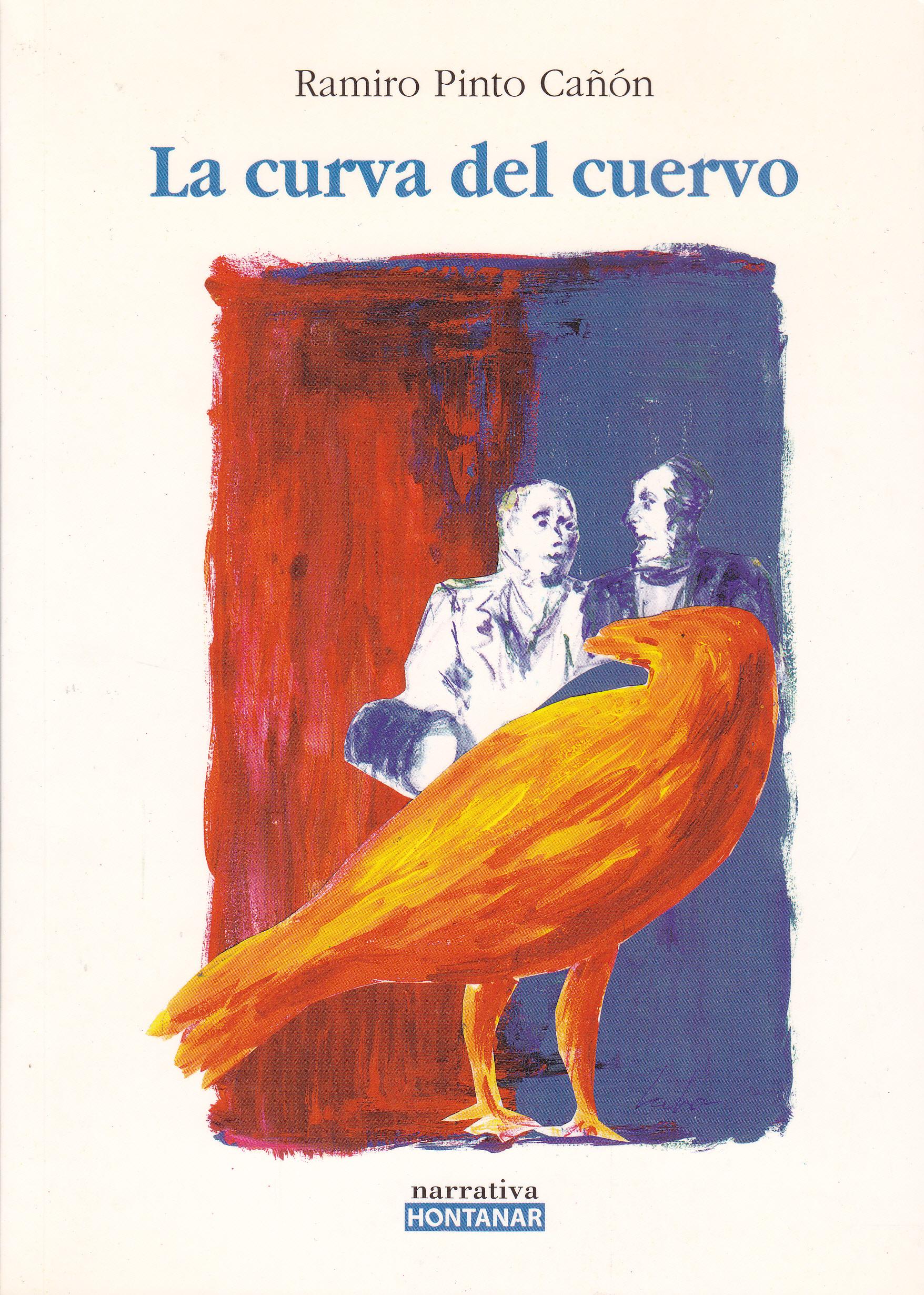 """Portada de """"La curva del cuervo"""""""