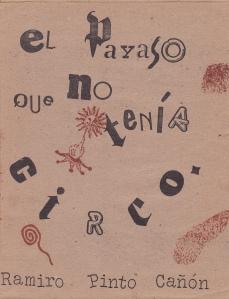 """Portada de """"El Payaso que no tenía Circo"""""""