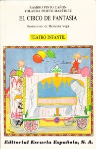 Portada del libro: El circo de fantasía. Teatro infantil.