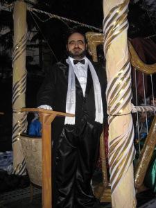 Pavarotti en escenario