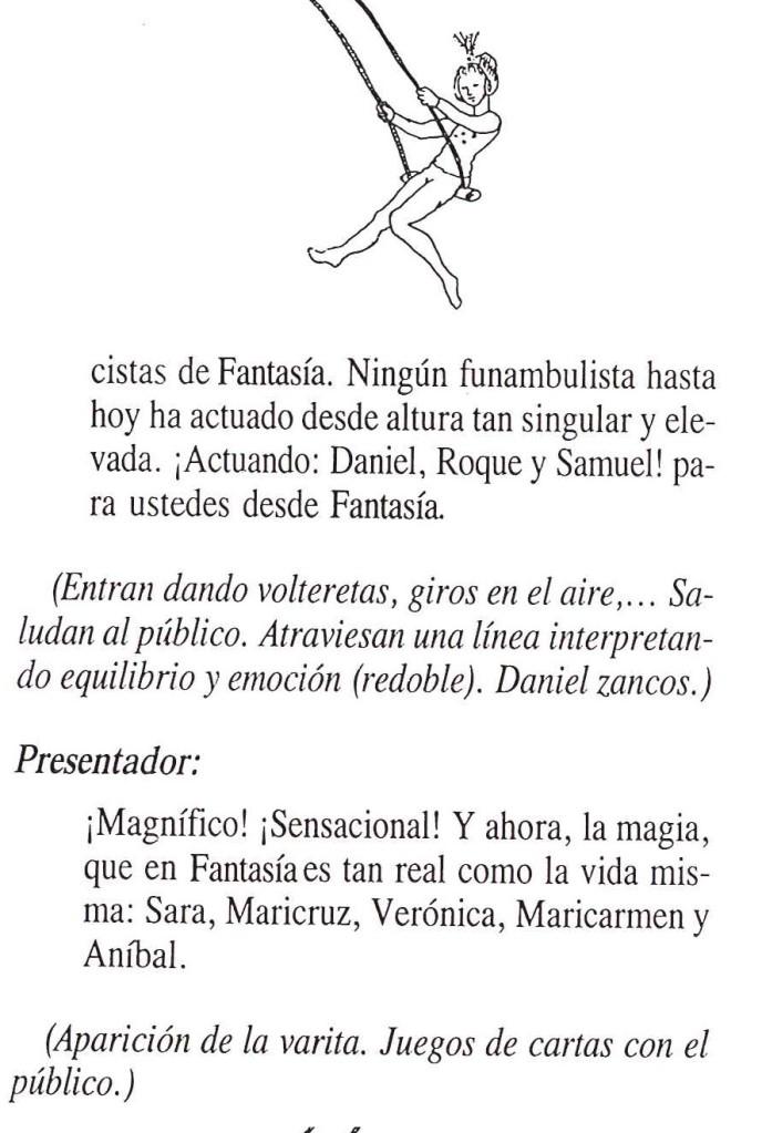 Texto de El circo de fantasía 12