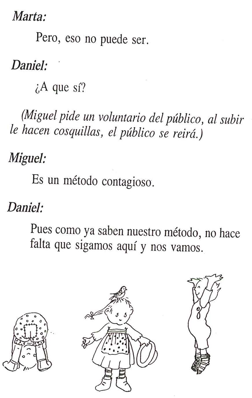 Guión del Circo de fantasía | Ramiro Pinto