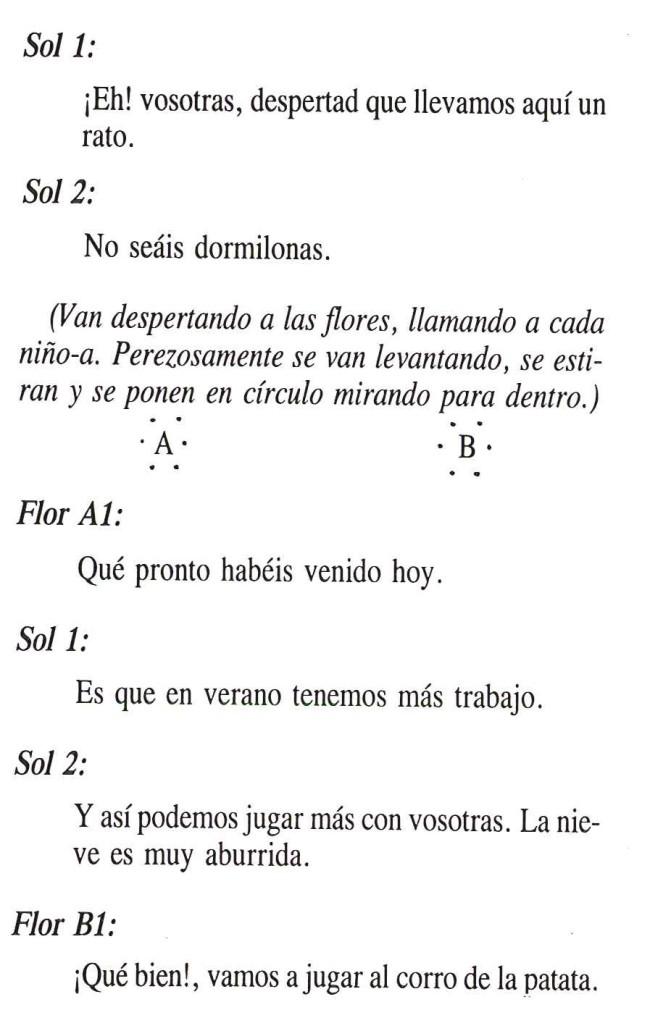 Texto de El Cuento de las Flores 2
