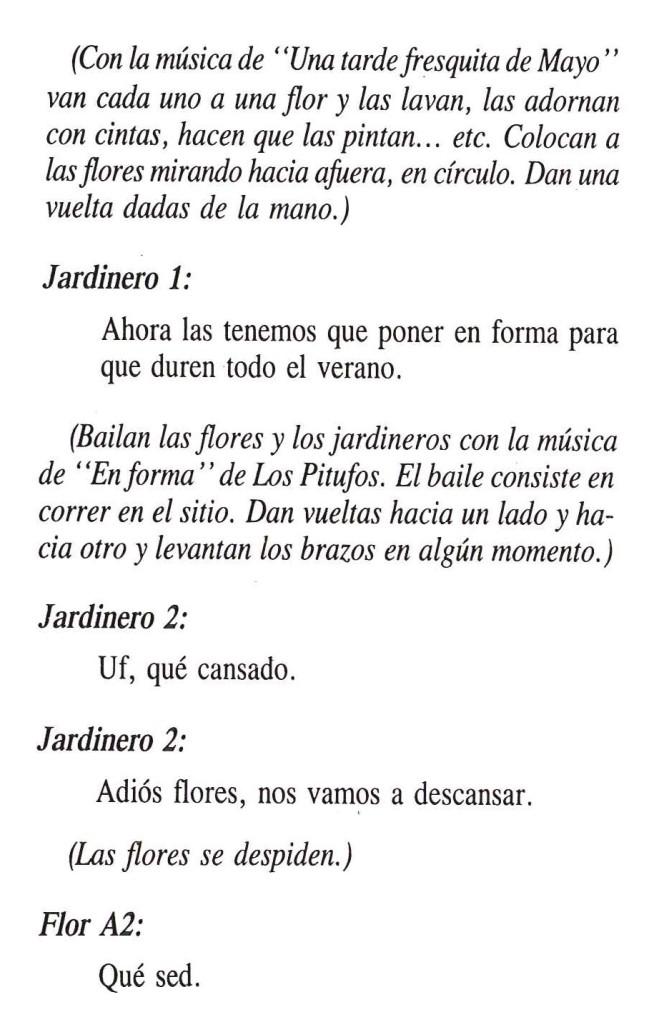 Texto de El Cuento de las Flores 4
