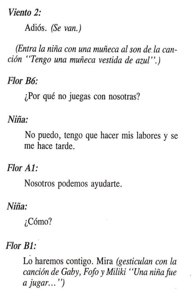 Texto de El Cuento de las Flores 7