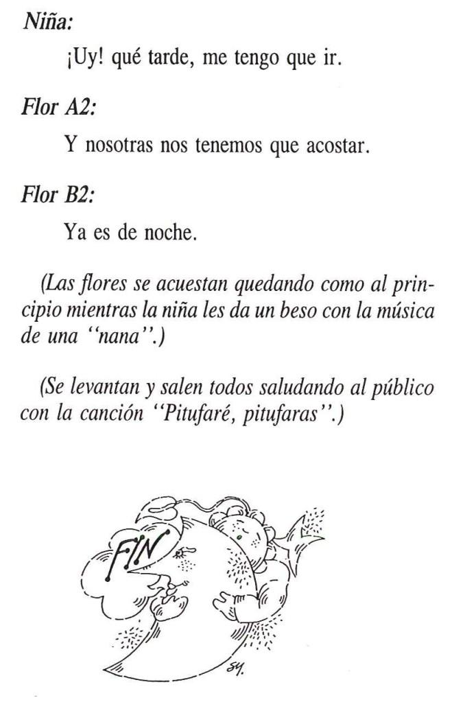 Texto de El Cuento de las Flores 9