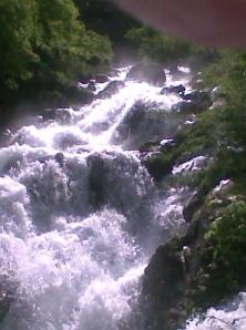 Río Cares. Caín