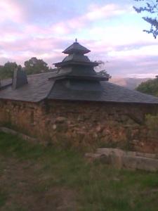 tejado pagoda en León.