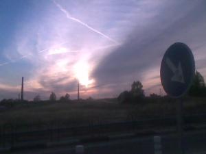 Cielo paisaje