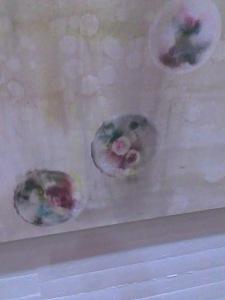 Detalle de cuadro de Tapia Arteaga