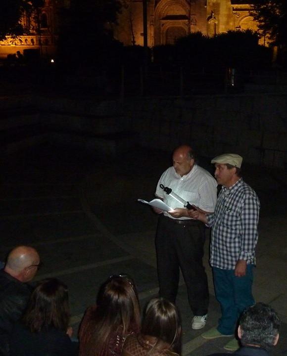 Con Toño Morala, presentador los ocho primeros ágoras