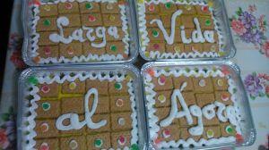 No pudieron faltar las tartas.