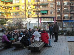 Asmblea en Medina del Campo con mujeres y hombres en paro y pensionistas. ¡Todos a Madrid el 22M!