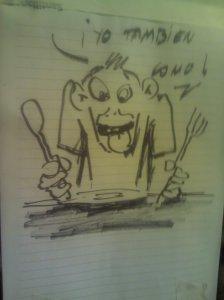 Caricatura de Juani Vargas