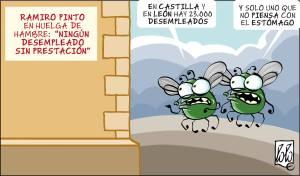 Chiste de Lolo en La Nueva Crónica de León