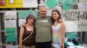 Con Yolanda y Daira