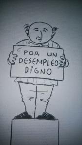 Caricatura de Víctor.