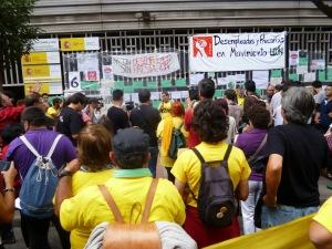 Cándido hablando con claridad desde su experiencia en la lucha obrera de los astilleros en Asturies.