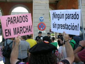 Madrid parados