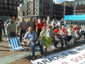 En Valladolid Parados en Movimiento.