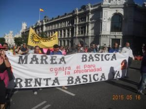 Manifestación IV aniversario 15 M.