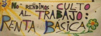 pancarta Renta Básica
