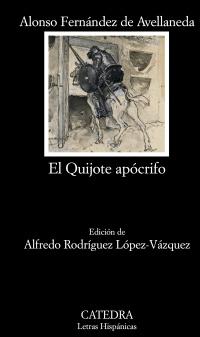 """Portada de """"El Quijote apócrifo"""""""