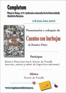 cartel presentación Alcalá de Henares