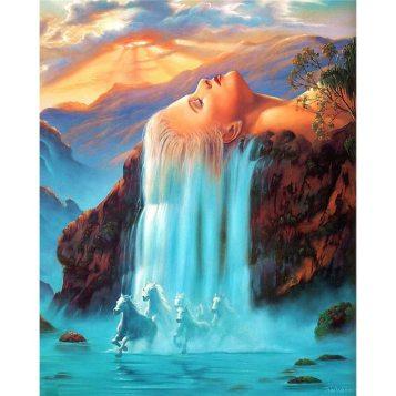 Cuadro-de-rhinestones-diamante-bordado-belleza-Mujer-cabello-cascada-caballo-decoraciC3B3n-del-hogar-diamante-pintura-paisaje