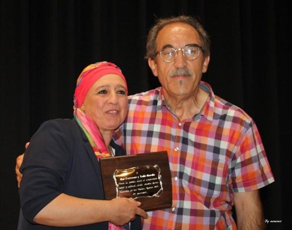 Dos personas entrañables y que siempre han apoyado los actos que se yan hecho en favor de la literatura, la libertad, la justicia social.