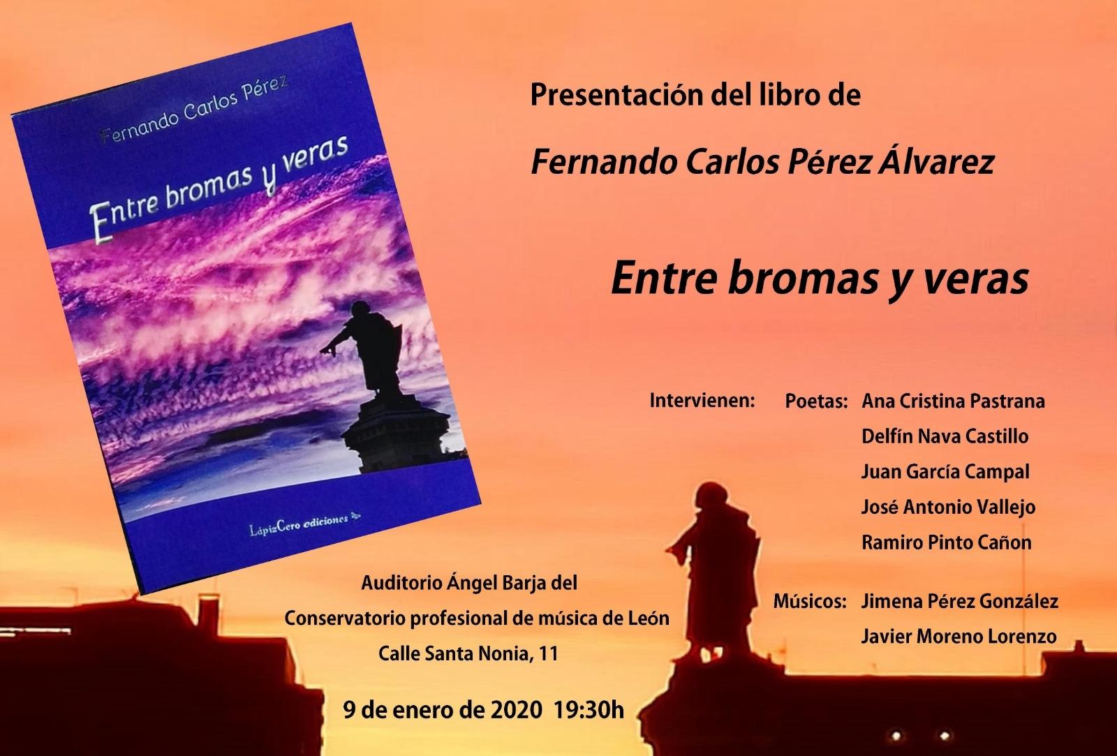 cartel presentación libro Fernando