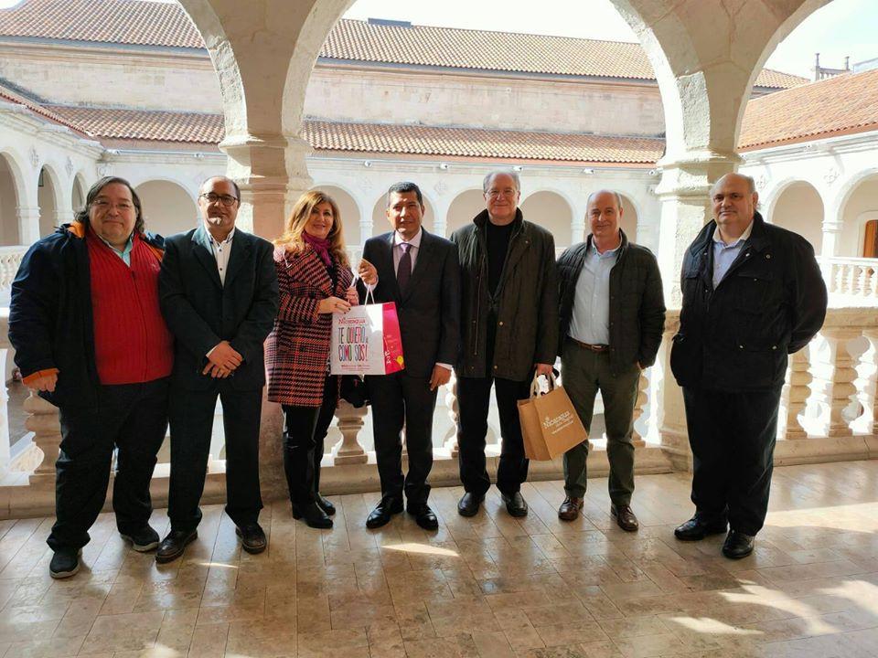 En el Palacio Santa Cruz de Valladolid